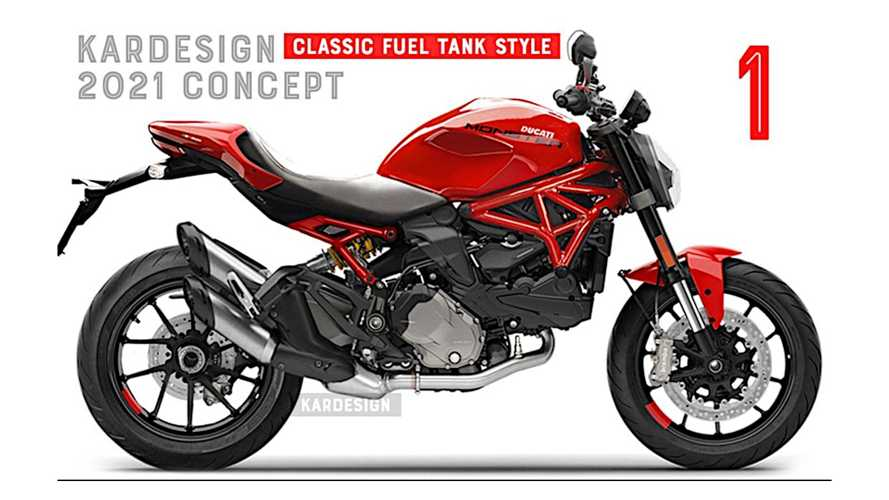 Disappointed Designer Fixed The New 2021 Ducati Monster