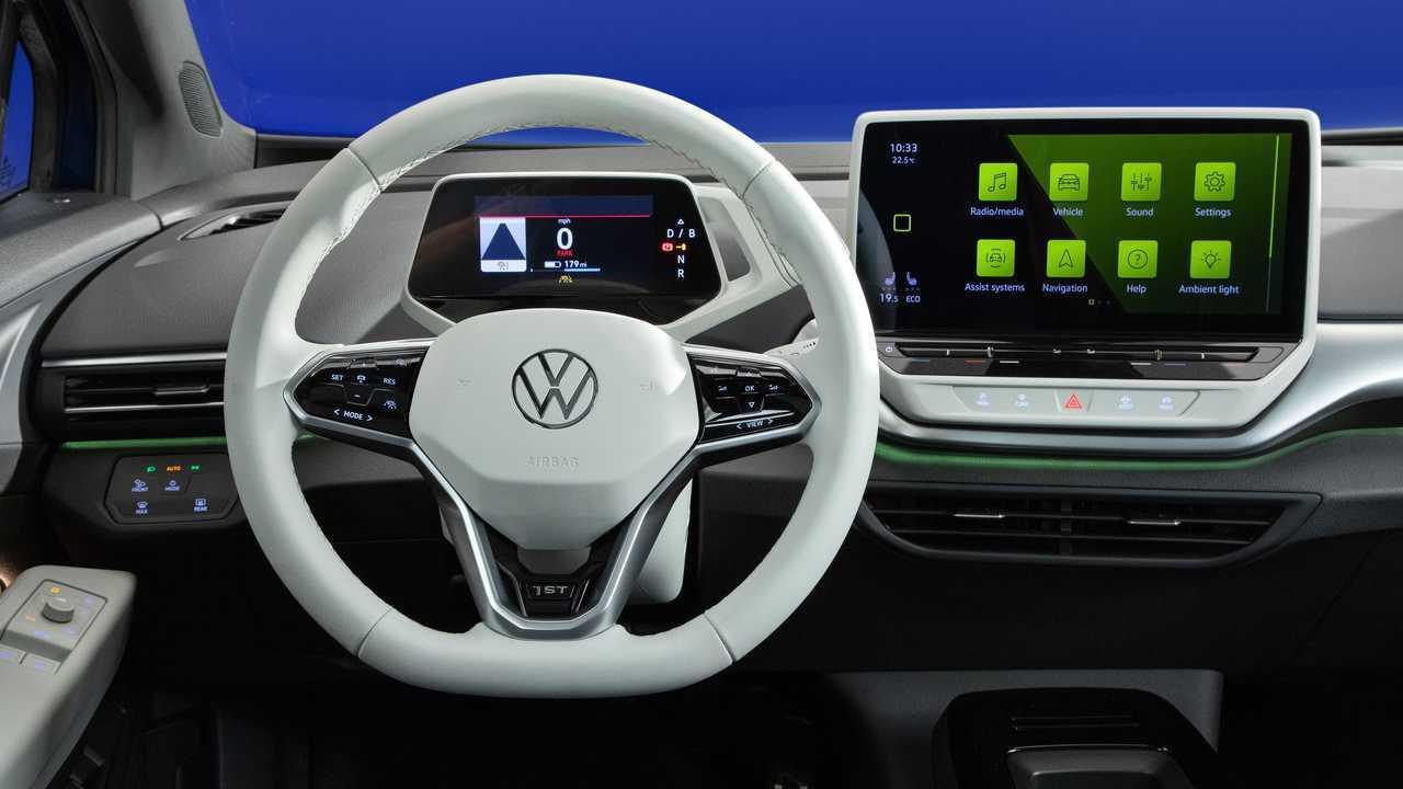 2021 Volkswagen ID.4 Interior Steering Wheel