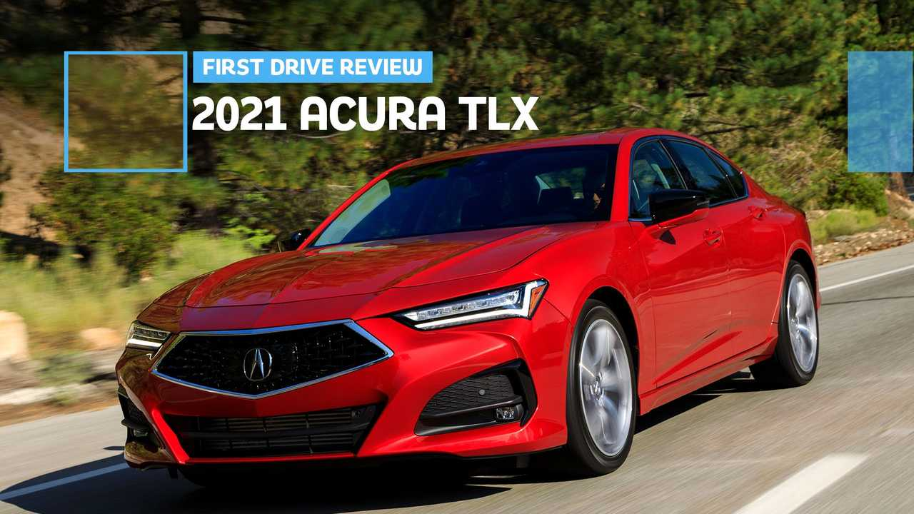 2021 Acura TLX First Drive Review