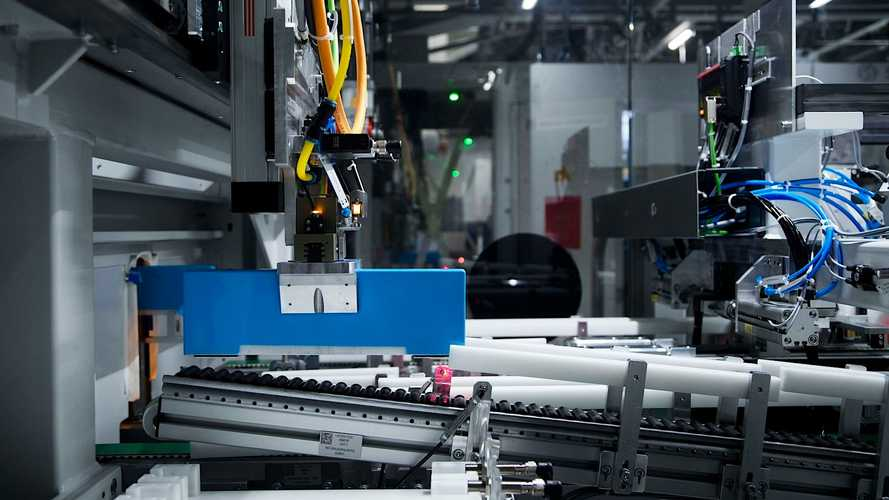 Bmw Group Plant Leipzig Battery Module Production Insideevs Photos