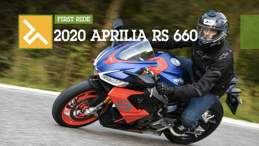 First Ride: 2020 Aprilia RS 660
