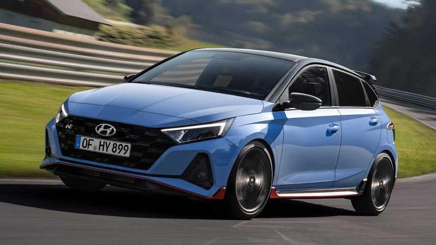 Hyundai i20 N 204 bg gücüyle nihayet tanıtıldı!