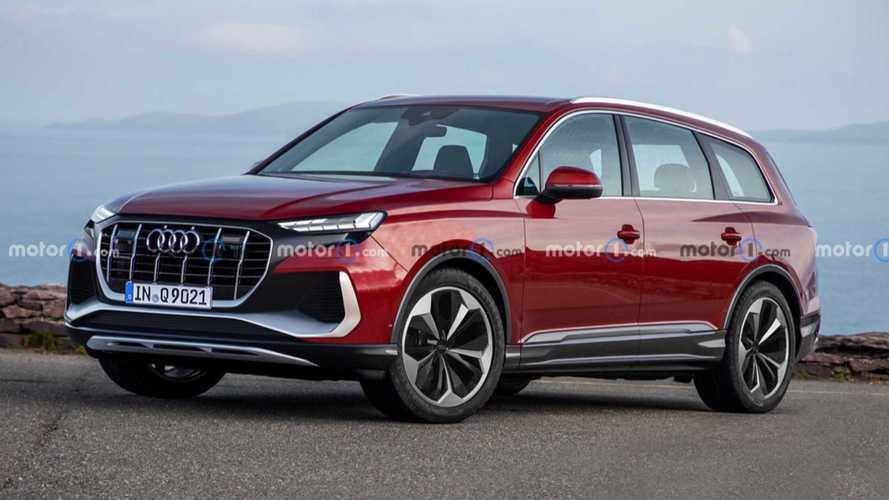 Audi Q9 als Rendering: Neues SUV-Flaggschiff mit rund 600 PS geplant?