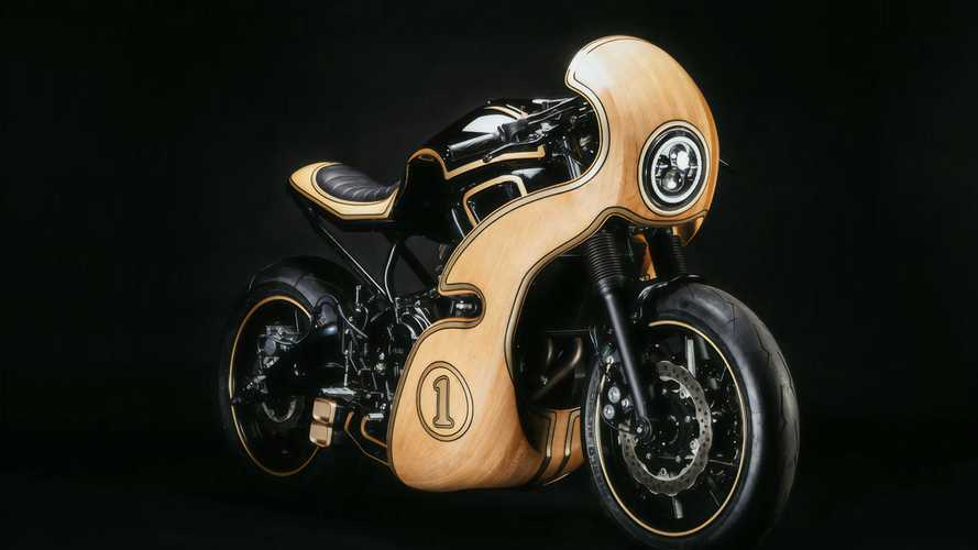 This Is What Happens When A Wood Crafter Modifies A Yamaha XSR700