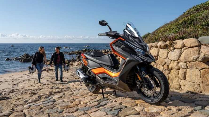 Kymco DT X360, lo scooter adventure crossover