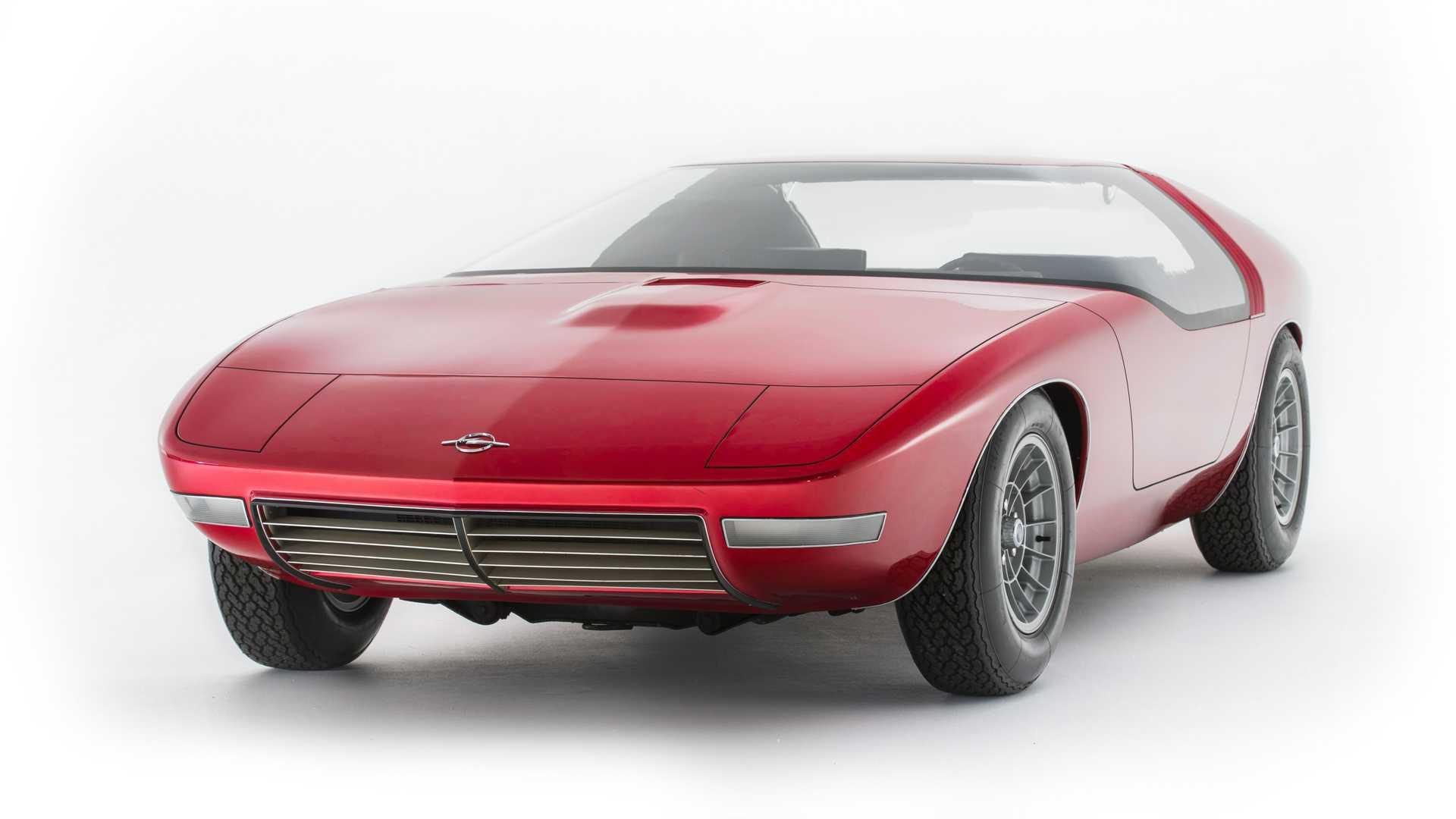 Concept oublié - Opel CD Concept (1969)