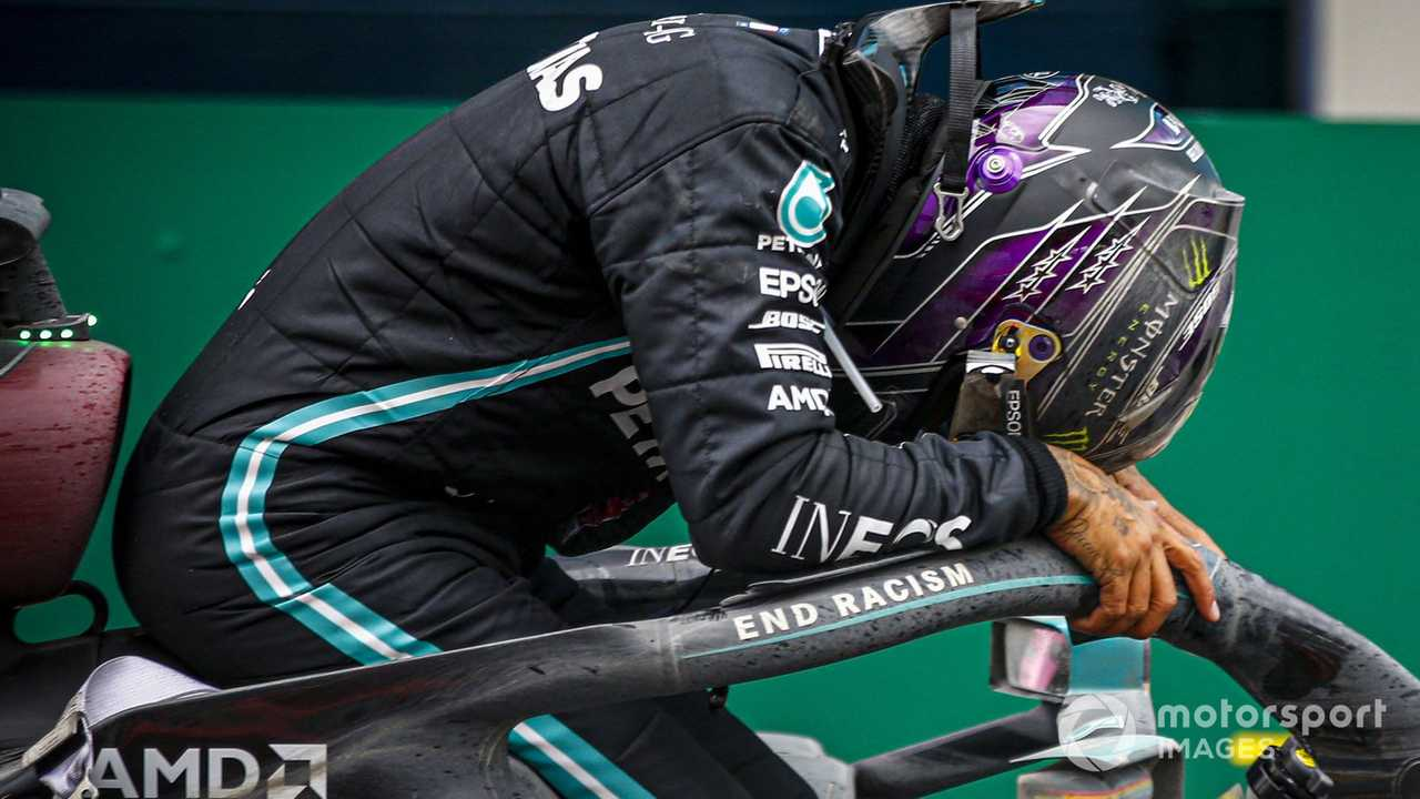 Lewis Hamilton at Turkish GP 2020