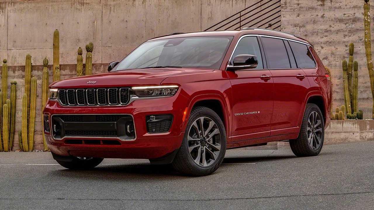 2021 Jeep Grand Cherokee L Esterno