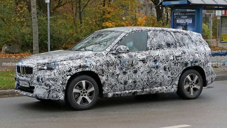 BMW iX1 All-Electric Crossover Spied For The First Time