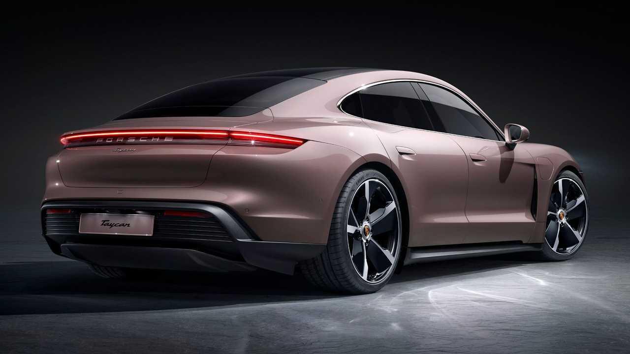2021 Porsche Taycan Quarto Posteriore
