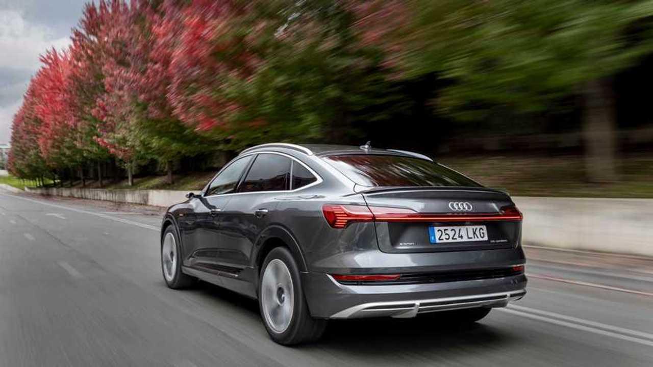 Prueba Audi e-tron Sportback, exteriores dinámicas