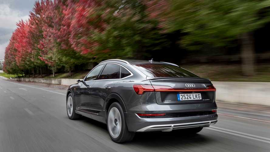 Prueba Audi e-tron Sportback: un SUV eléctrico, en formato coupé
