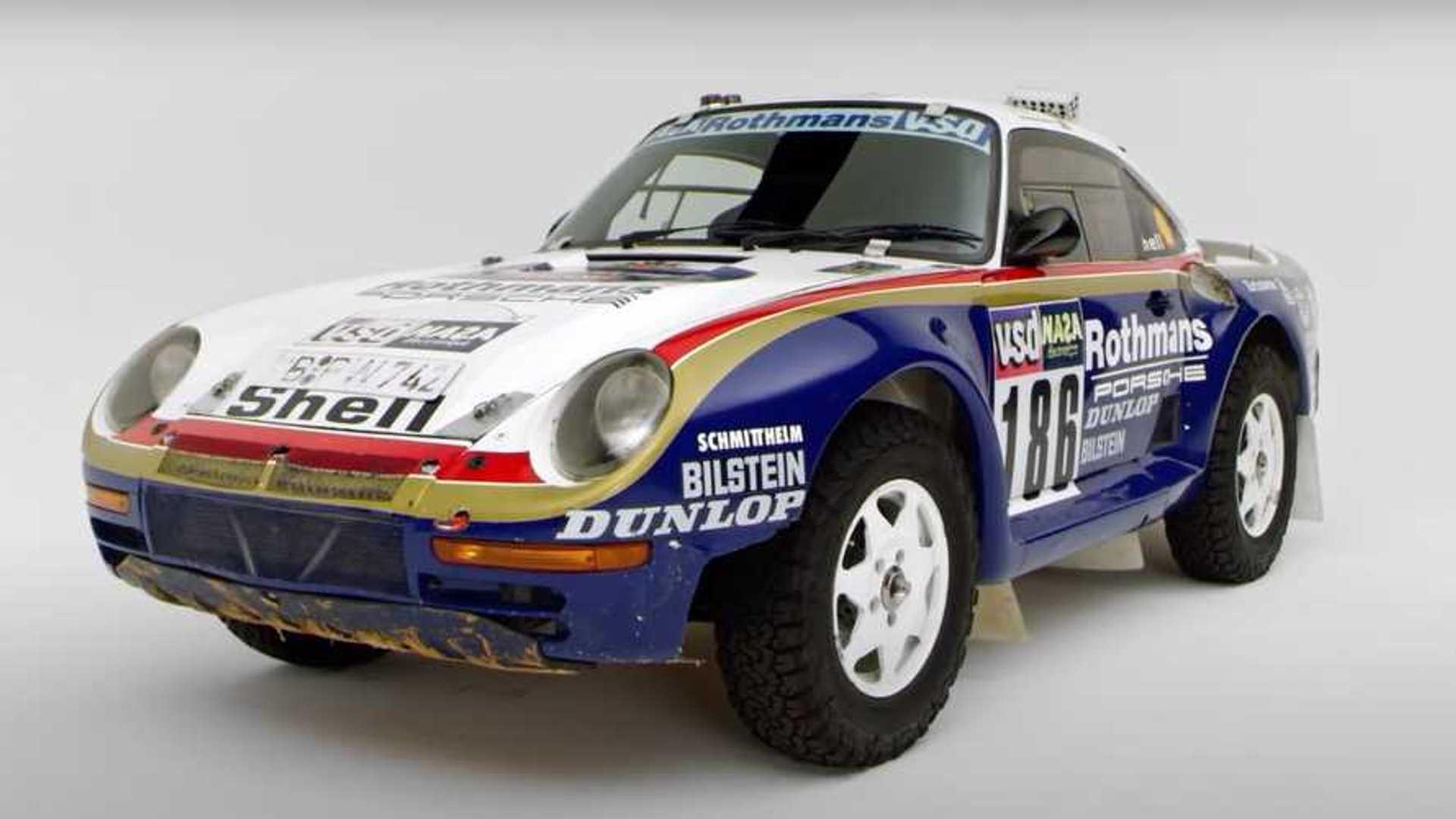Porsche Shows Top 5 Highlights Of The 959 Paris-Dakar