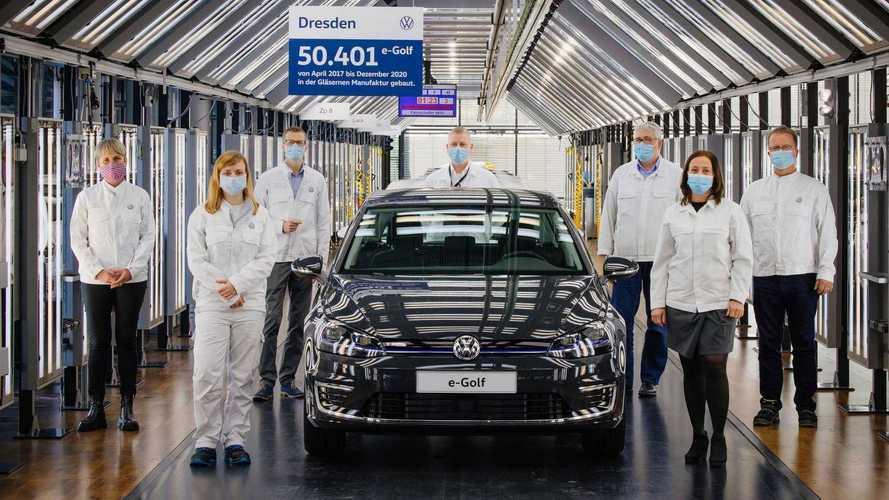 Volkswagen encerra produção do elétrico e-Golf e abre espaço para o ID.3