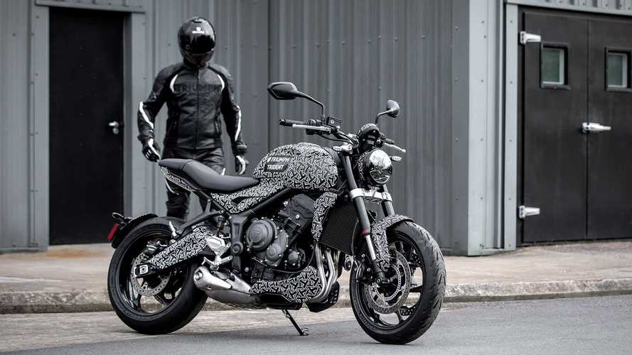The Triumph Trident Test Mule Hints At Future Model