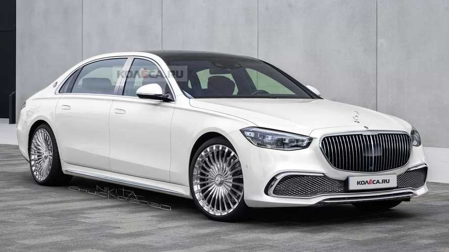 Mercedes-Maybach S-Serisi Render'ları