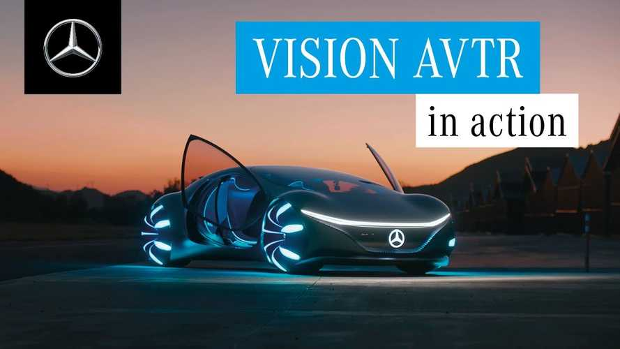 Mercedes-Benz Takes Us For A Dream-Like Ride In Vision AVTR Concept