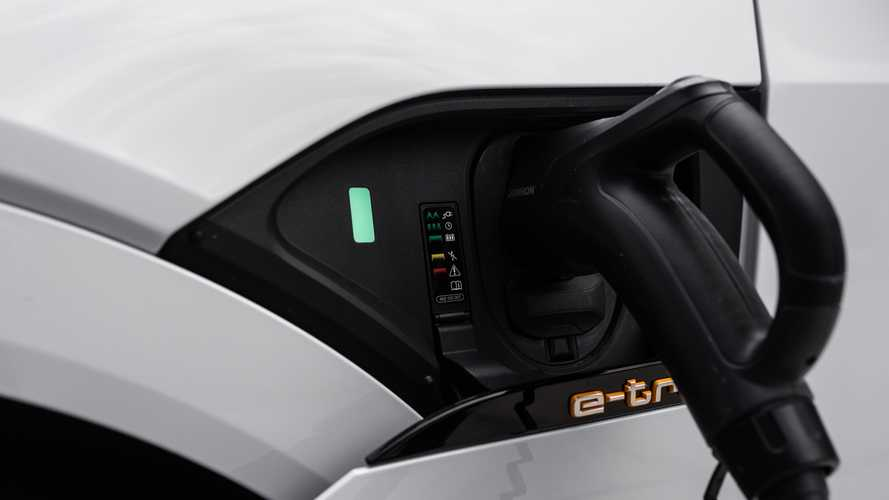 Audi e-Tron Images From Range Test And Charging