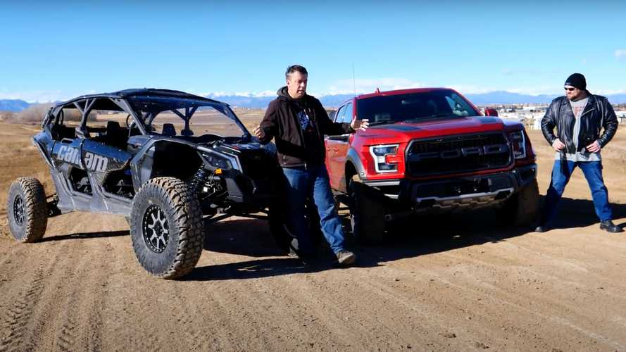 Can A Ford Raptor Beat Can-Am Maverick X3 In An Off-Road Drag Race
