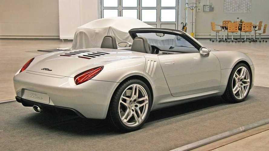 Porsche 550one  - Un projet gardé secret depuis plus de 12 ans