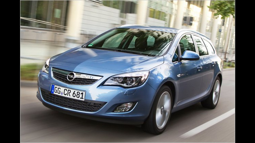 Nobel geworden: Opel Astra Sports Tourer im Test