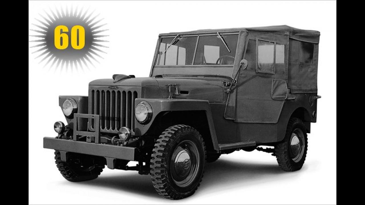60 Jahre Toyota Land Cruiser