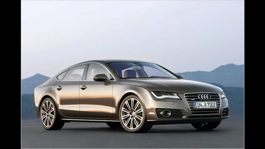 Audi A7 Sportback: Erste Bilder und Infos