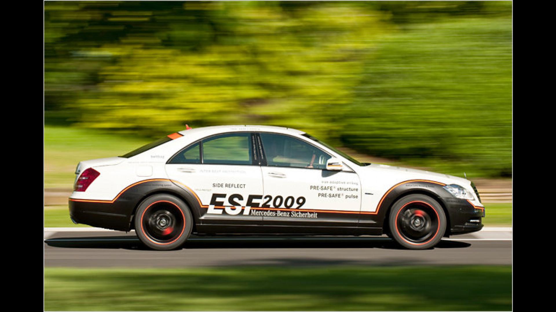 Geballte Sicherheit an Bord Das ESF 2009 von Mercedes