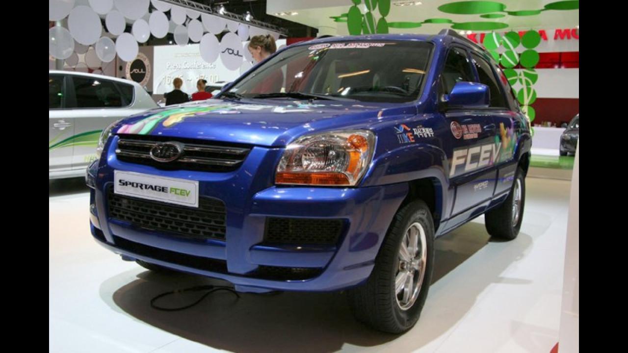 Kia Sportage mit Brennstoffzelle