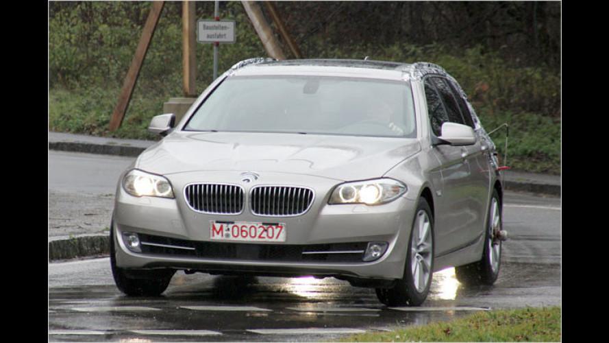 Erwischt: Neuer BMW 5er-Touring fast ungetarnt