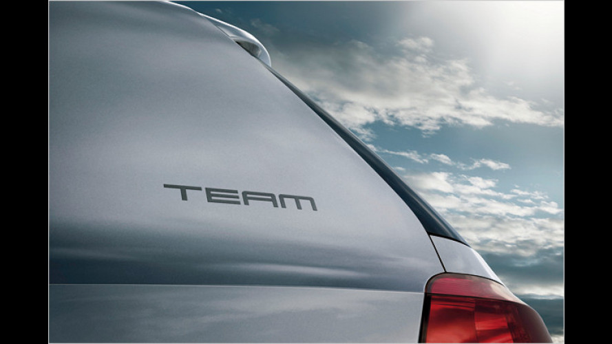 Siebenmal sparen: Team-Sonderedition für viele VW-Modelle