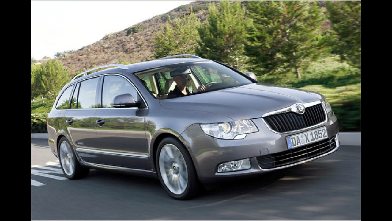 Skoda Superb Combi Greenline