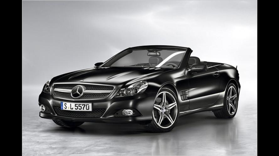Sonder-Mercedes: SL Night Edition und SLK Grand Edition