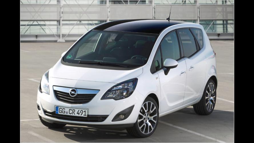Opel Meriva jetzt auch als Sondermodell