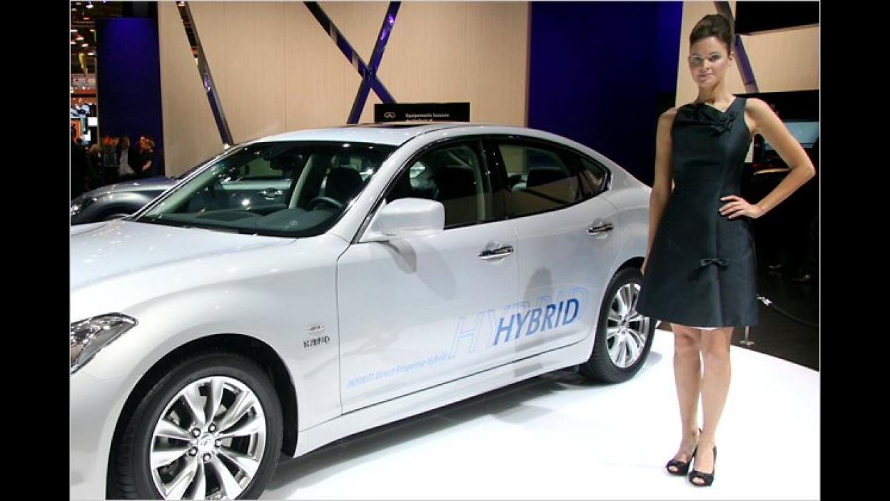 Hybrid ist, wenn es ZWEI Komponenten sind, oder? Wieso steht da bloß EIN Girl?