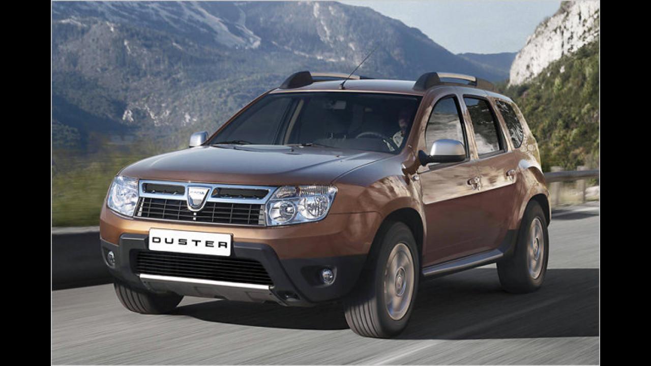 ... wurde der Dacia Duster