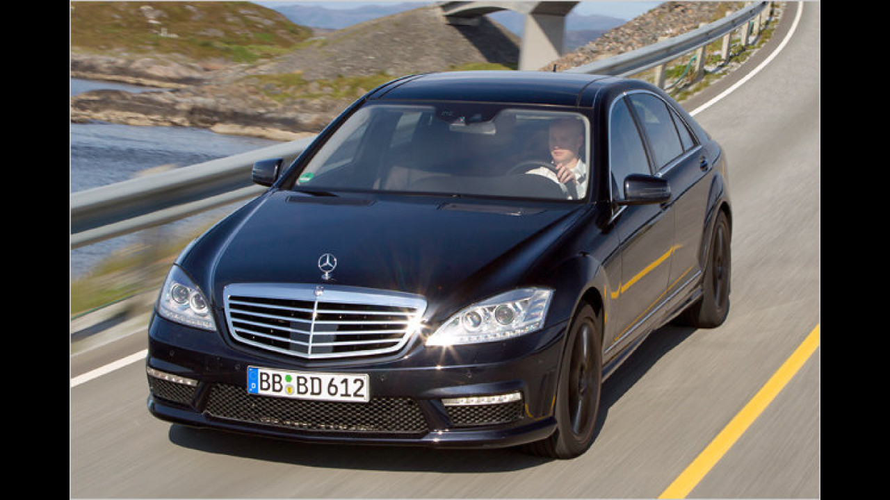Mercedes S 63 AMG mit Performance Package