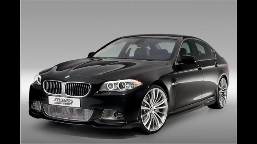 Mehr dran und drin: BMW Fünfer von Kelleners Sport