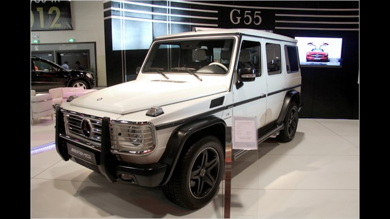 Mercedes G 55 AMG Arabia Edition