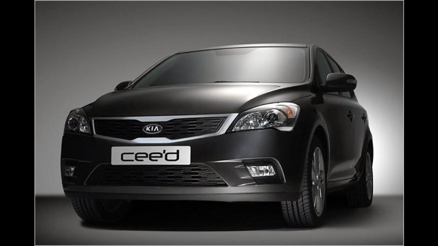 Frischer Kia Cee'd: Erstes Bild vom Facelift freigegeben