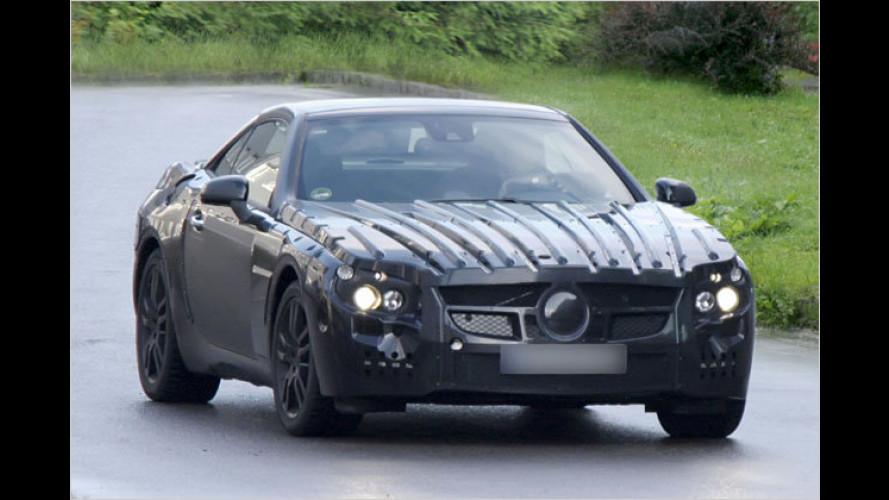 Erwischt: Mercedes lässt den neuen SL von der Leine