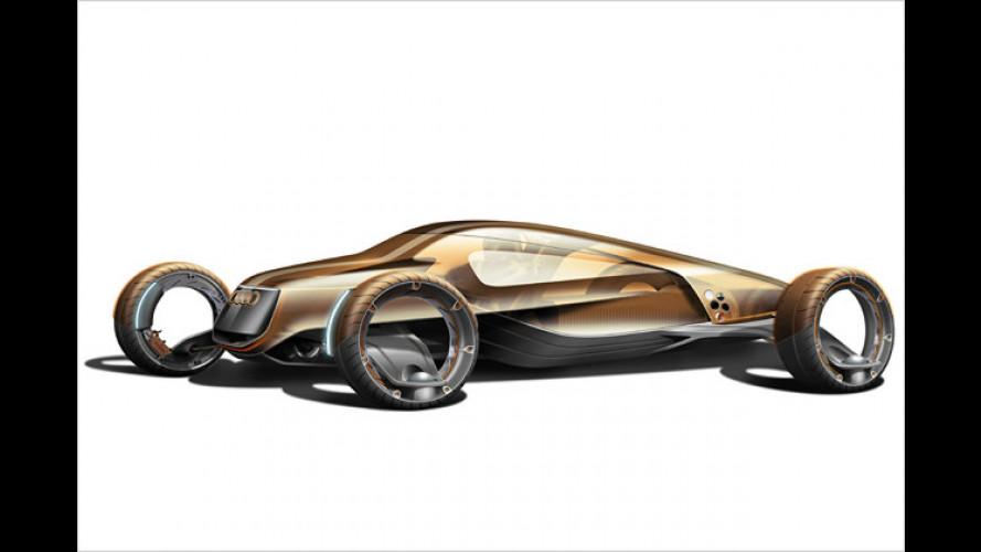Ganz schön abgedreht: Auto-Visionen für das Jahr 2030
