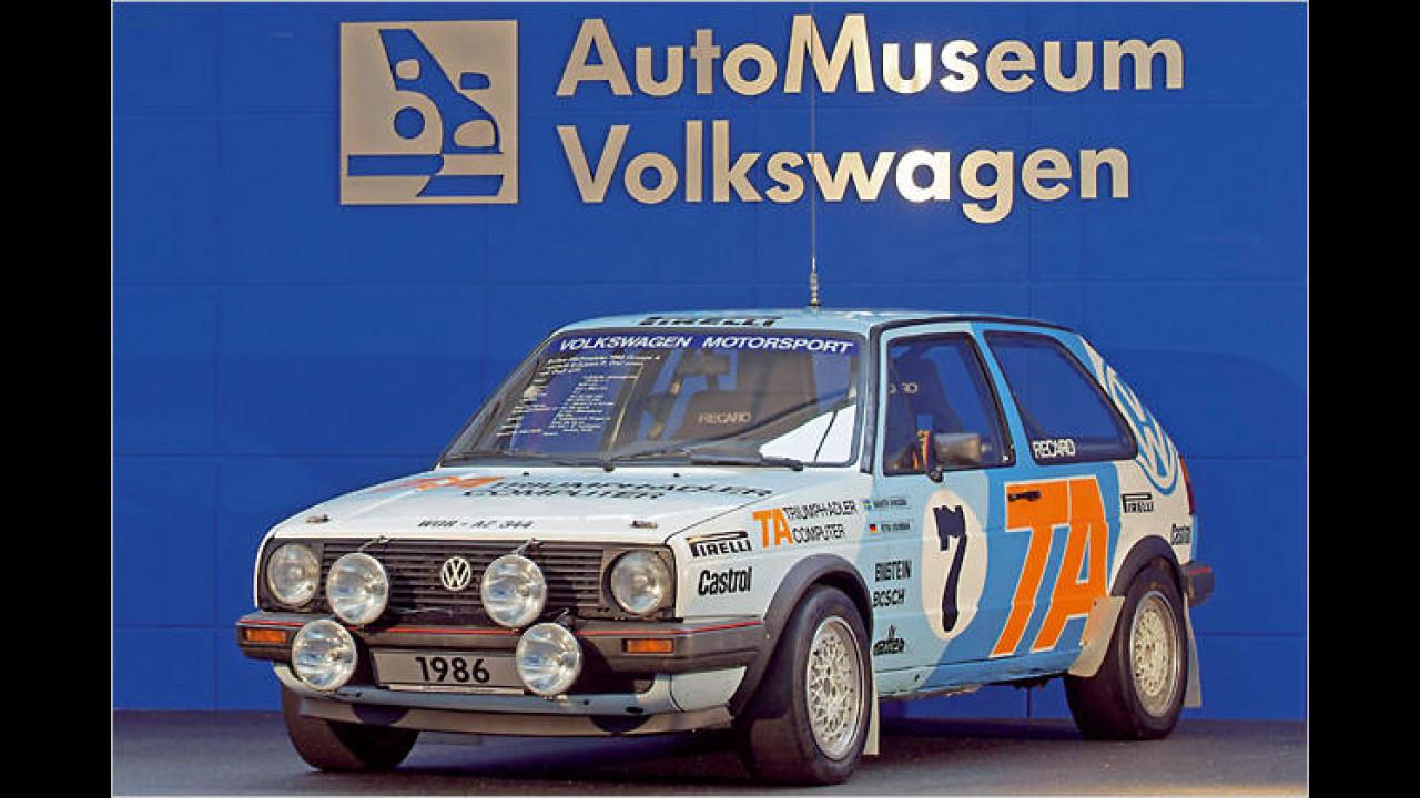 1986: VW Golf II Gruppe A