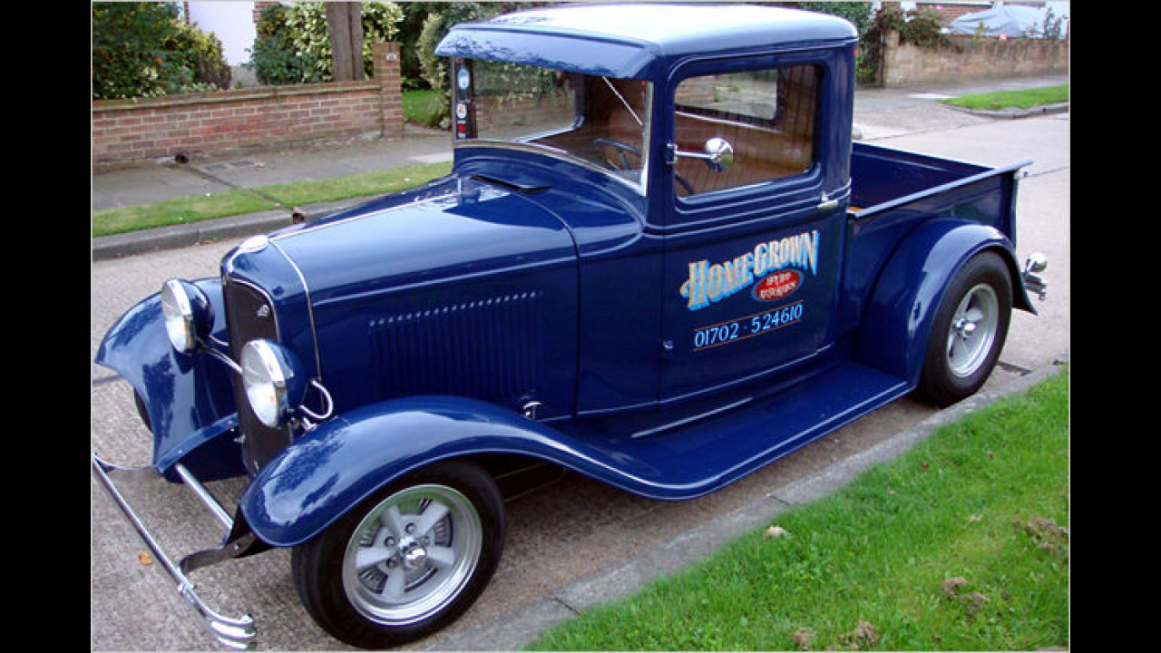 Custom Cars: 1932 Ford B Pickup