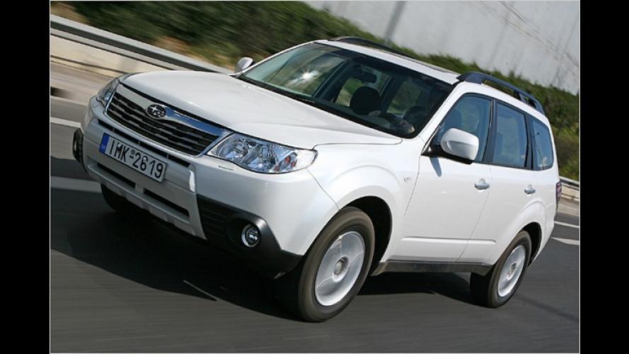 Neuer Subaru Forester: Aufgefrischter Geländegänger