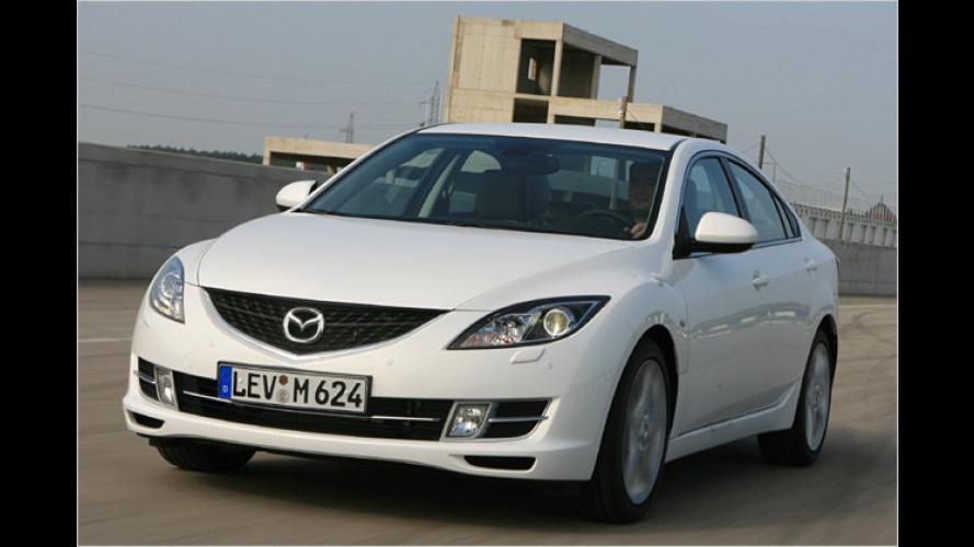 Mazda 6 erhält neues Dieselaggregat in drei Leistungsstufen