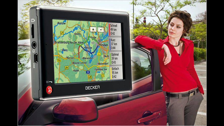 Die Navigations-Highlights auf der Car + Sound 2009