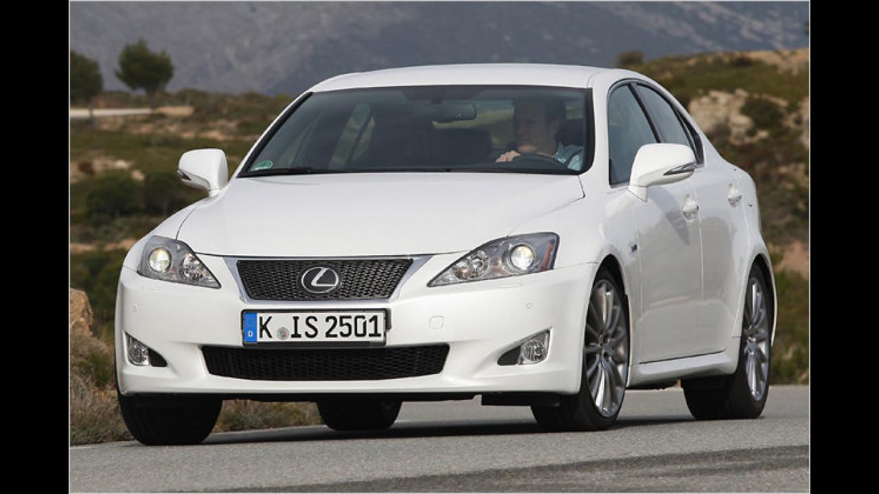 Mittelklasse, 1. Platz: Lexus IS