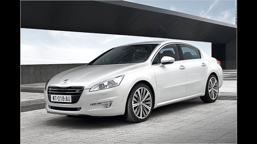 Peugeot 508: Erste Sitzprobe im neuen Topmodell mit Löwe
