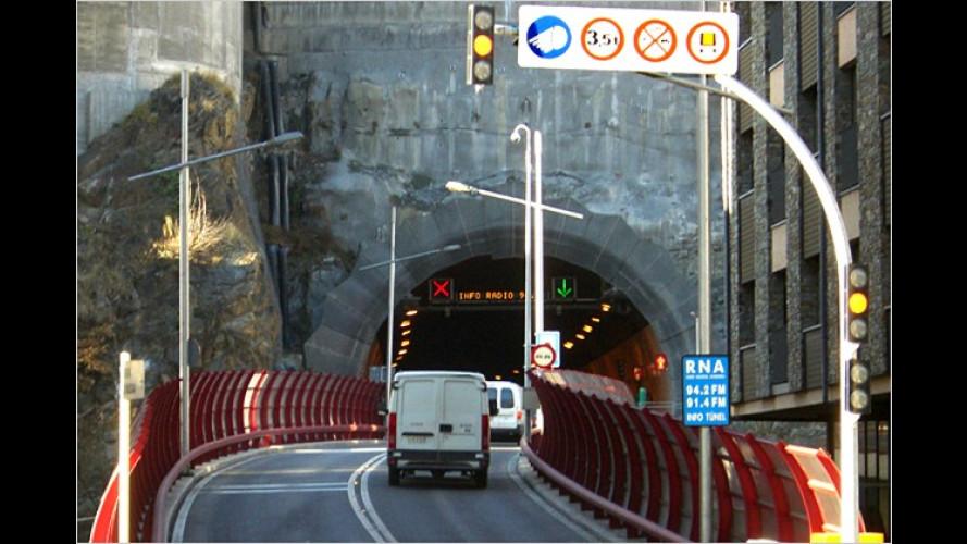 Angst vor der Röhre: Aktueller Tunneltest des ADAC